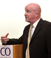 Tony at APCO conference in 2012